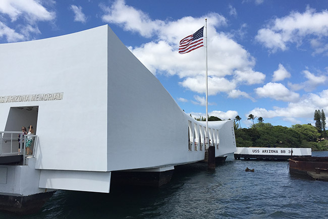 tour 3 - uss arizona memorial slide