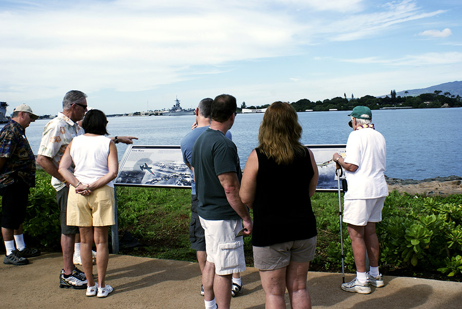USS Arizona Memorial and Zip Line - wayside Exhibits